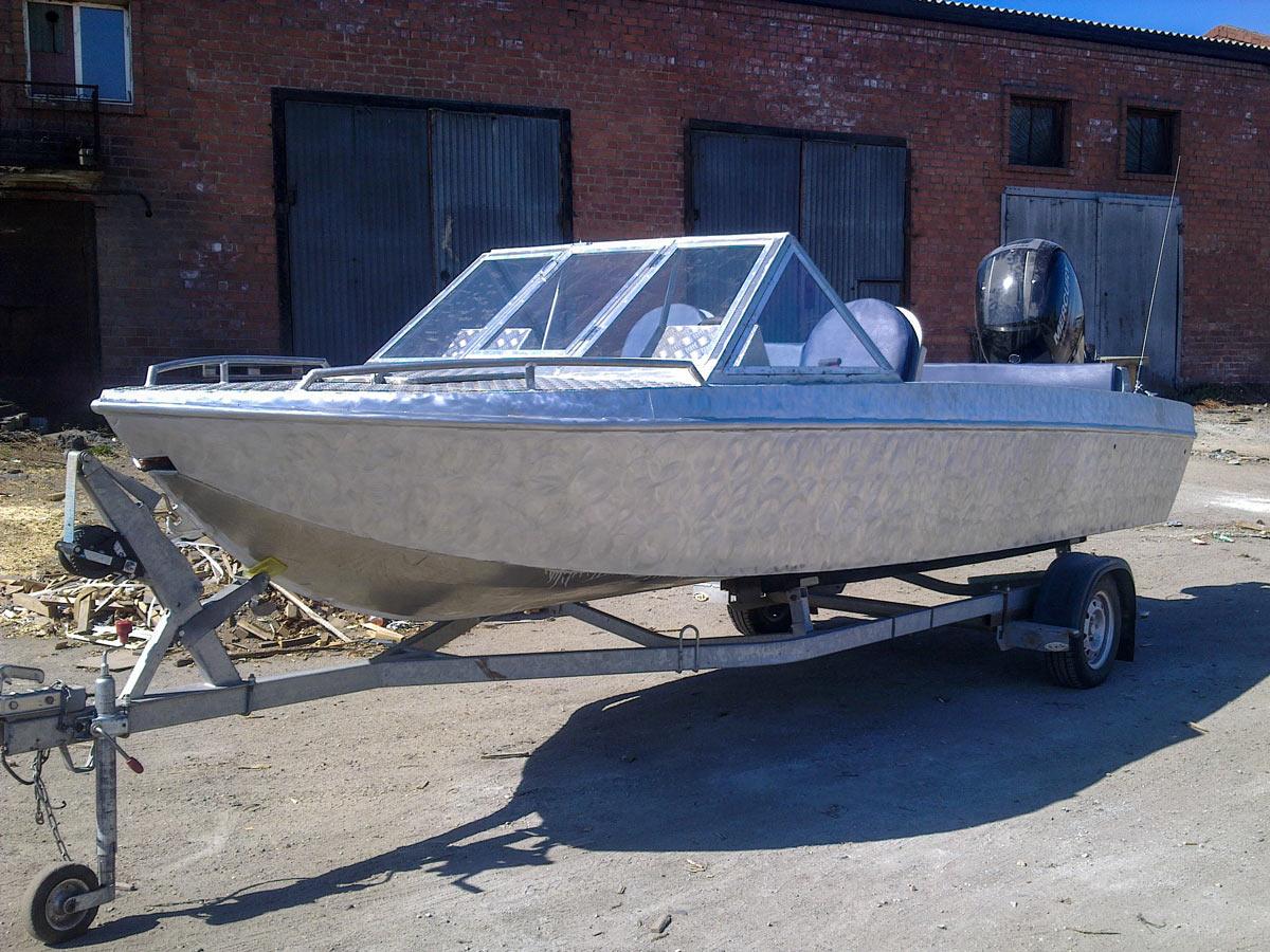 Водометы на моделях лодок